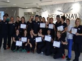 İstanbul'da verdiği bir genital estetik hands on eğitimi